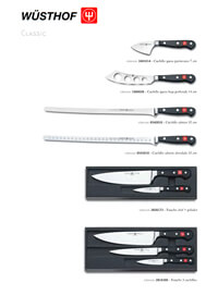 professional knives cook SERIES CLASSIC 4