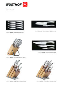 professional knives cook CULINAR SERIES 3