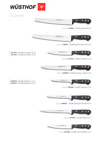 professional knives cook GOURMET SERIES 3