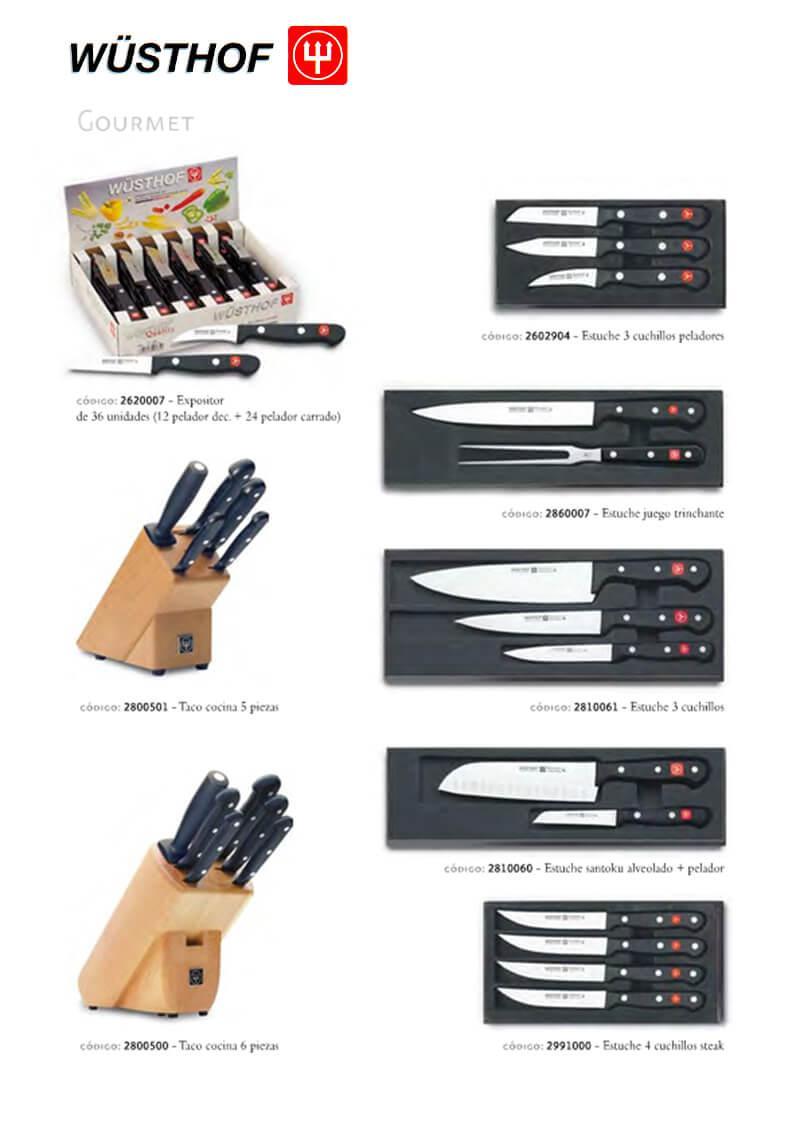 Coltelleria professionale cuoco serie gourmet 5 for Ingrosso utensili da cucina