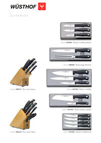 professional knives cook SILVERPOINT SERIES 3